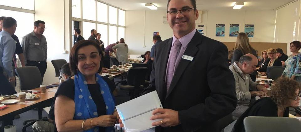 Thanks to the kindness of the NOW business network our school has a new iPad for students to use.